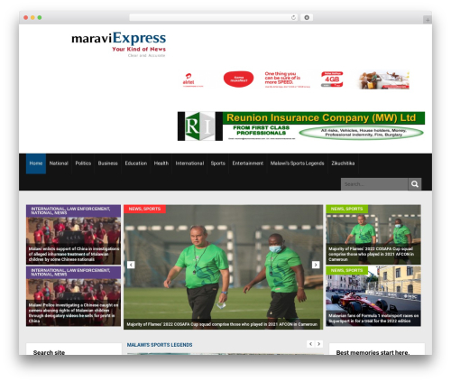 SKT Magazine Pro WordPress theme design - maraviexpress.com