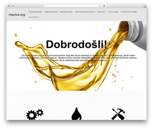 Free WordPress Royal Scroll to Top plugin - maziva.org