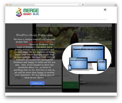 Themify Simfo best WordPress template - mergedesignblog.com