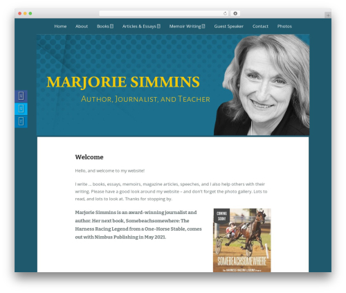 Free WordPress Fuse Social Floating Sidebar plugin - marjoriesimmins.ca