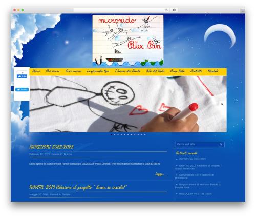 Best WordPress theme Children - micronidopeterpan.it