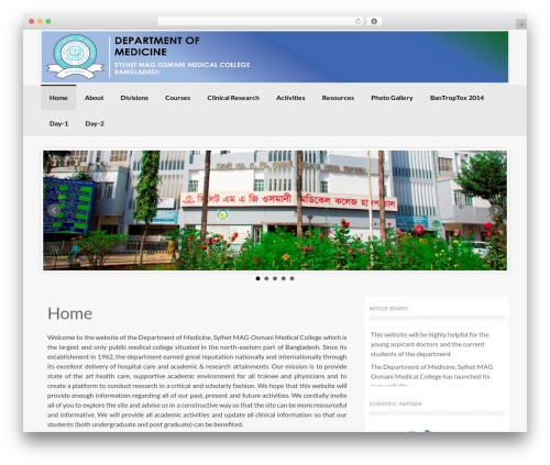 Coller WordPress theme free download - medicinesomc.com