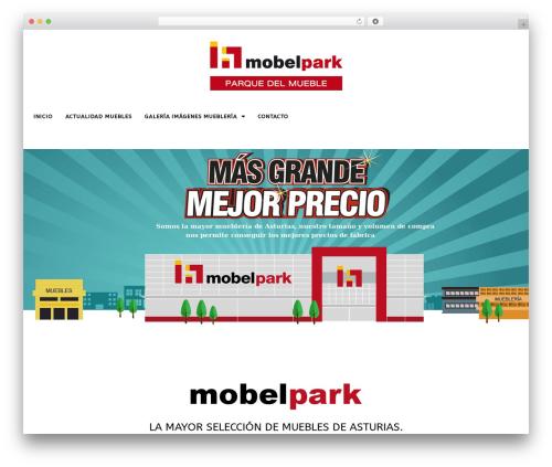 FlatMarket WP theme - mobelpark.com
