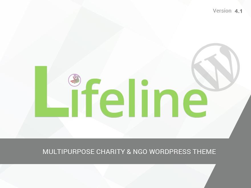 Lifeline Child WordPress theme