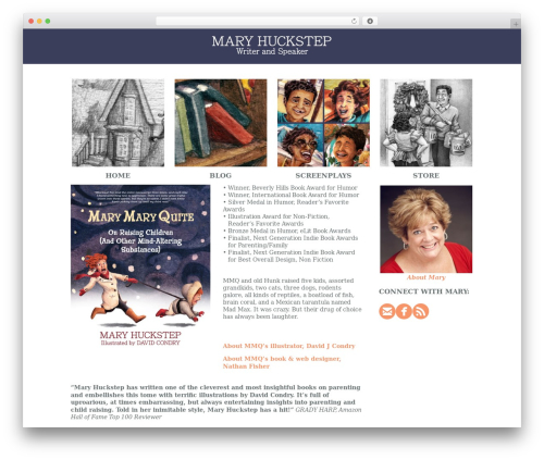 MODUS WordPress theme - maryhuckstep.com