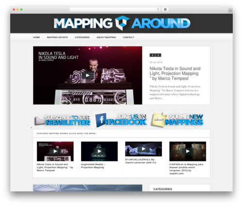 Motion Picture WordPress page template - mappingaround.com
