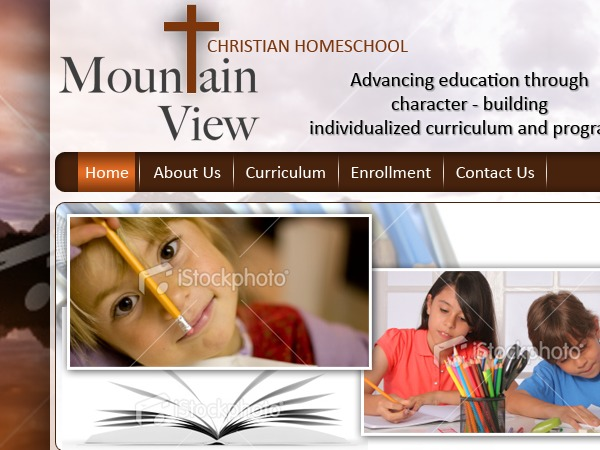 Mountain View Christain Home School best WordPress template