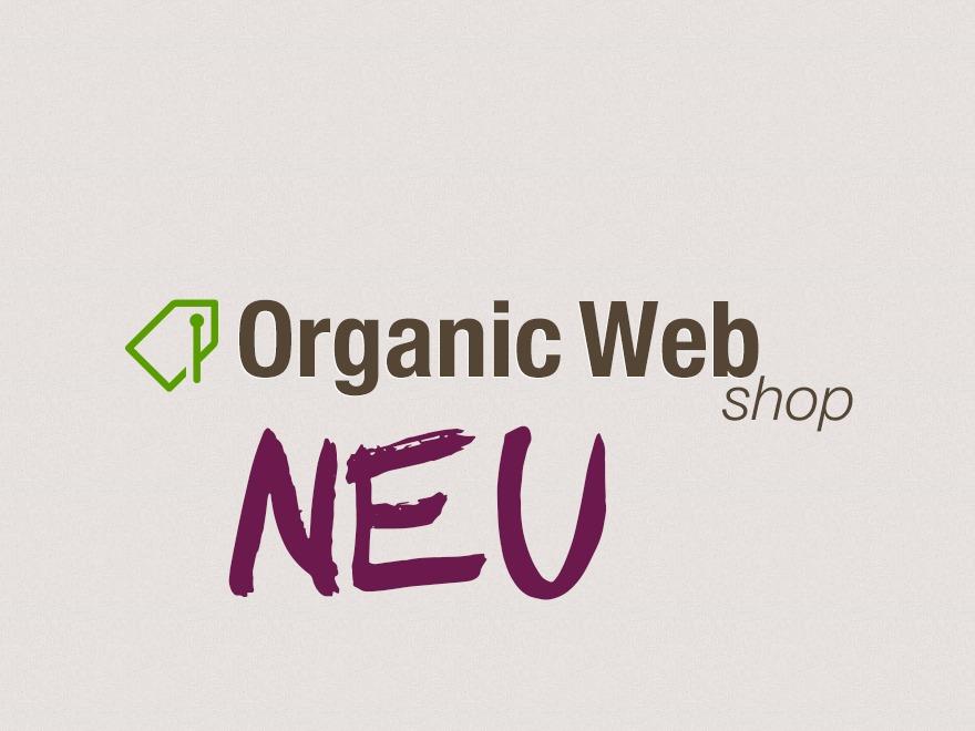 Organic Web Shop WordPress shop theme