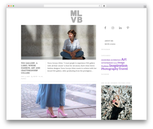 Free WordPress Nice Navigation plugin - marjoleinlammertsvanbueren.com