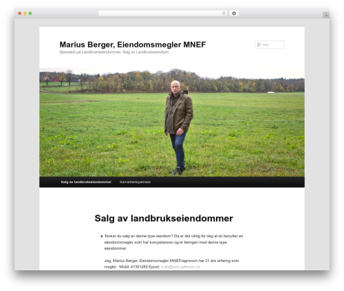 Twenty Eleven best free WordPress theme - mariusberger.no