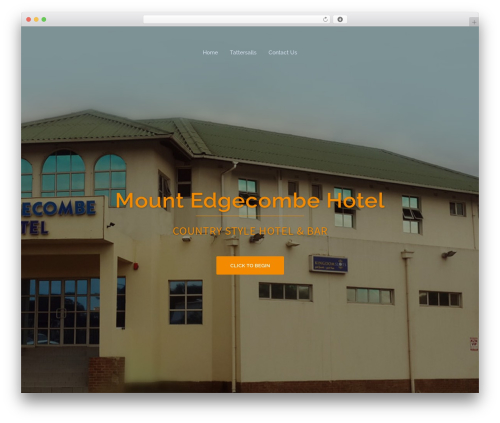 WordPress theme Sydney - mountedgecombehotel.co.za
