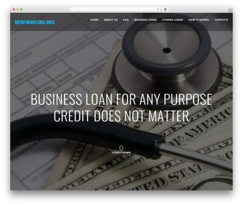 WordPress Slider Revolution plugin - medfinancing.org