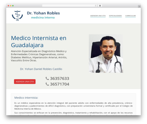 WordPress ultimate_vc_addons plugin - medico-internista.com