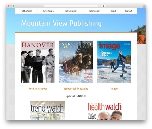 WP theme Vittoria - mountainviewpublishing.com