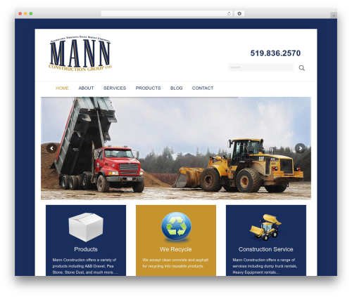 Free WordPress Material Design for Contact Form 7 plugin - mannconstruction.ca