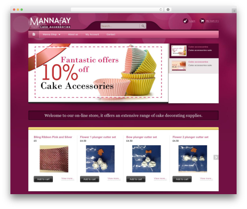 Best WordPress theme Bellissima - mannafay.com