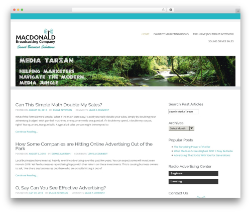 Circumference Lite theme WordPress free - media-tarzan.com