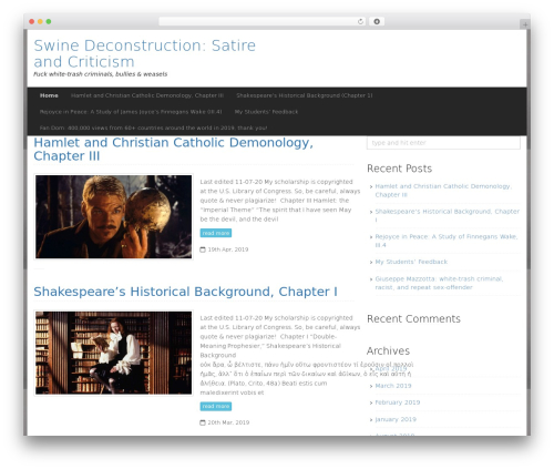 Compose WP premium WordPress theme - margheritamaleti.com