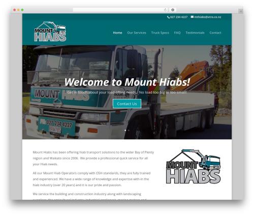 Divi best WordPress theme - mthiabs.co.nz