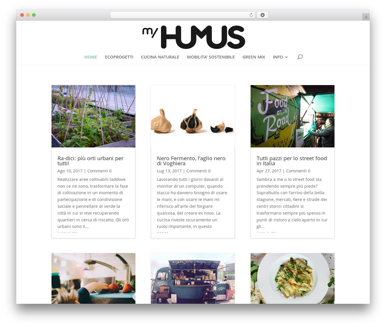 Divi WordPress blog theme - myhumus.com