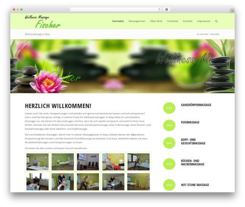 Free WordPress WP Calendar plugin - massage-alzey.de