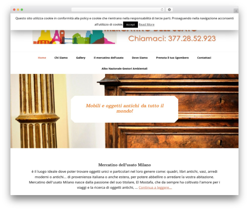 Genesis theme WordPress - mercatinodellusatomilano.it