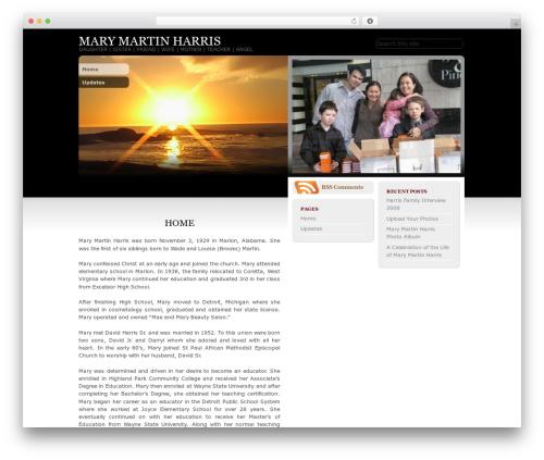 HoPE best WordPress theme - maryharris.org