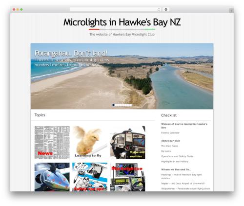 Micro WordPress theme download - microlight.org.nz