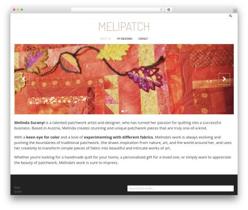 Nikkon WordPress theme - melipatch.com
