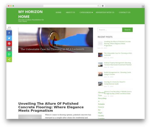 Wimple WordPress theme free download - myhorizonhome.com