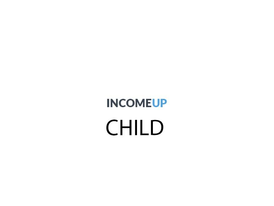 WordPress theme IncomeUp Child Theme