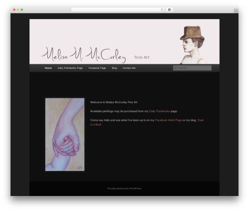 WordPress theme twenty eleven child - melisamccurley.com