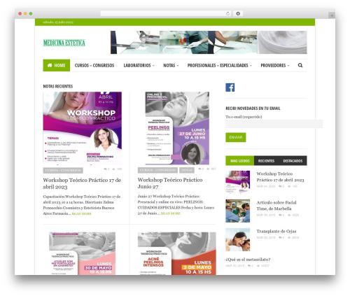 WP template Bloom - medicina-estetica.com.ar