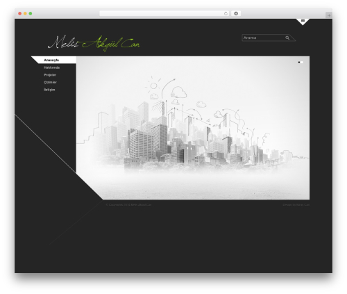 Architec best WordPress template - meliscan.com