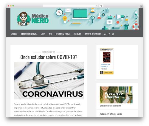 Best WordPress template Brixton - Wordpress Theme - mediconerd.com.br