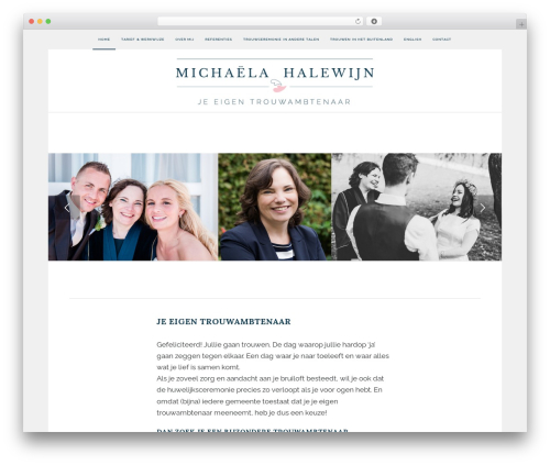 Best WordPress theme Enfold - michaelahalewijn.nl