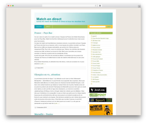 Fixed Blix theme WordPress - match-en-direct.net