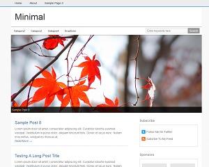 Minimal Xpert best WordPress template