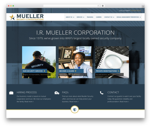 QUANTUM - Business WordPress Theme business WordPress theme - muellersecurity.com