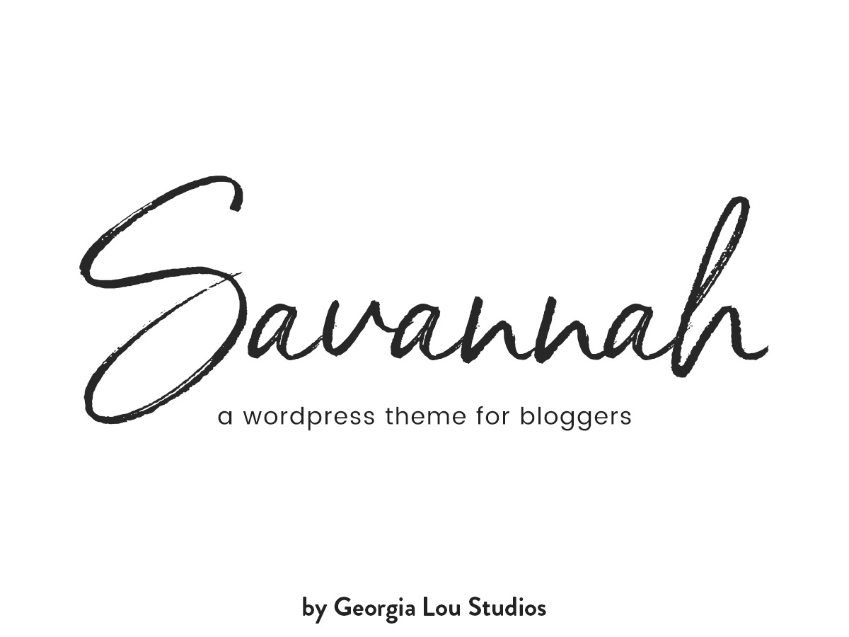 Savannah WordPress theme