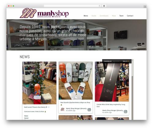 Striking MultiFlex & Ecommerce Responsive WordPress Theme WordPress page template - manlyshop.ch