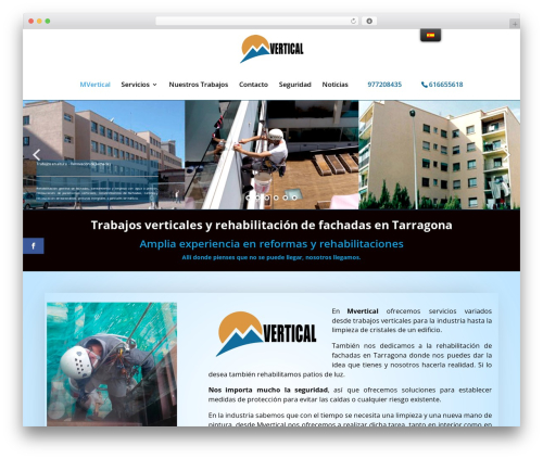 Theme WordPress Child M vertical - mvertical.es