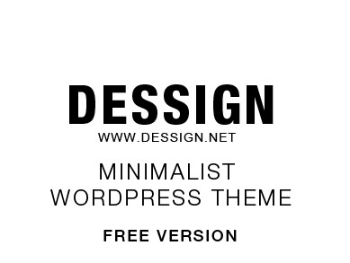 Theme WordPress Mimimalist FREE Responsive WordPress Theme
