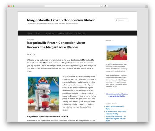 Twenty Eleven WordPress template free - margaritavillefrozenconcoctionmakers.org