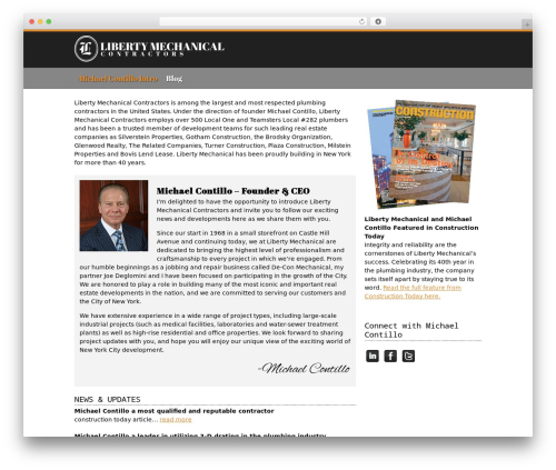 WordPress theme MAD - michaelcontillo.com