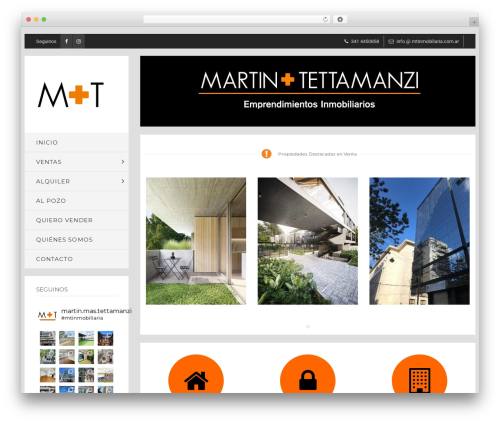 WordPress theme WP Bullet - mtinmobiliaria.com.ar