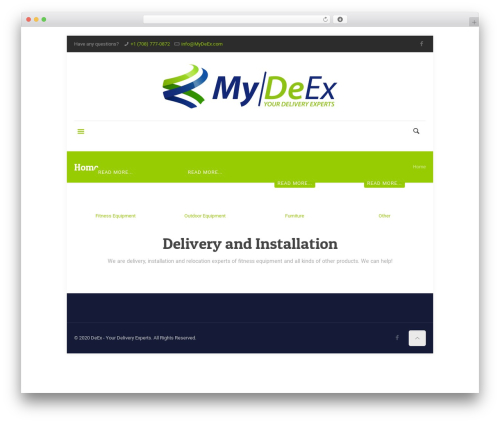 Betheme best WordPress theme - mydeex.com
