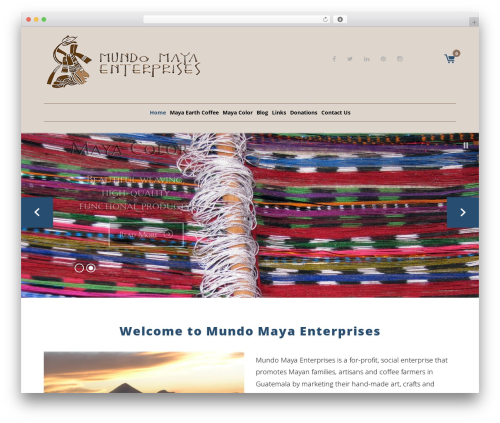 Coffeera WordPress theme - mundomayaenterprises.com