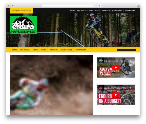 Ecommerce Solution best WooCommerce theme - minienduro.tv