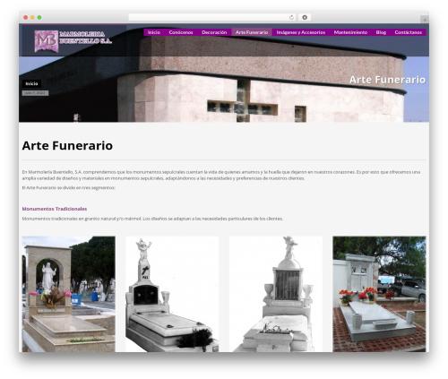 WordPress cuteslider plugin - marmoleriabuentello.com.mx